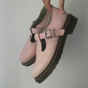Pink Dr. Martens Mary Janes Shoes Size 9